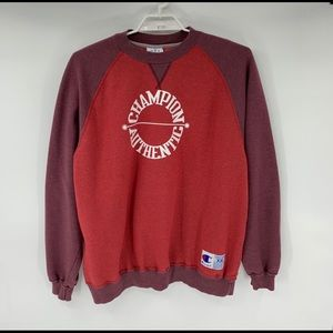 Champion Mens Crew Neck Sweatshirt Spell Out 2XL